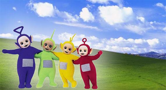 XP: Willkommen im Land der Teletubbies